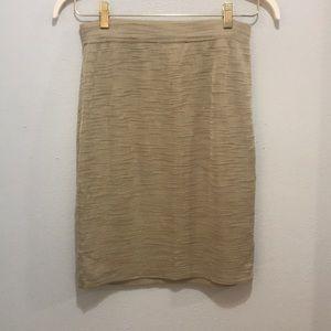 Vintage escada Margaretha Ley gold skirt